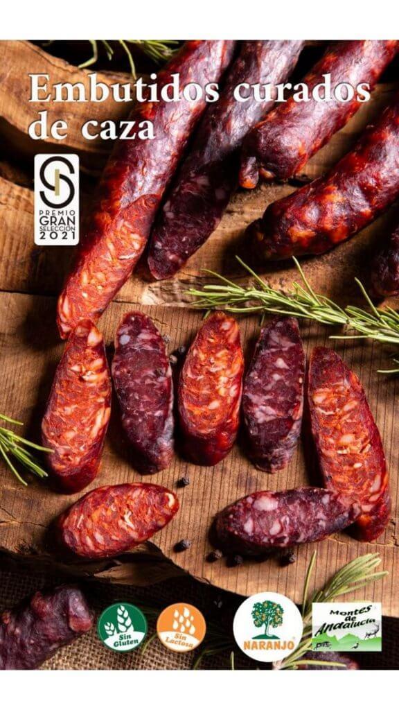 Chorizo y Salchichón curados